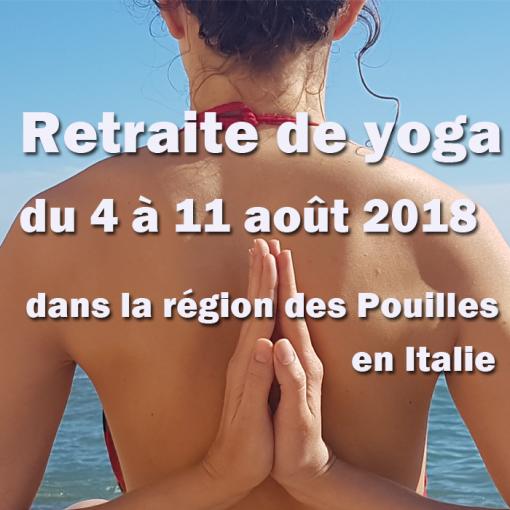 Vinyasa yoga dans la région des Pouilles en Italie