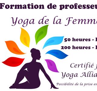 Formations de Yoga de la Femme